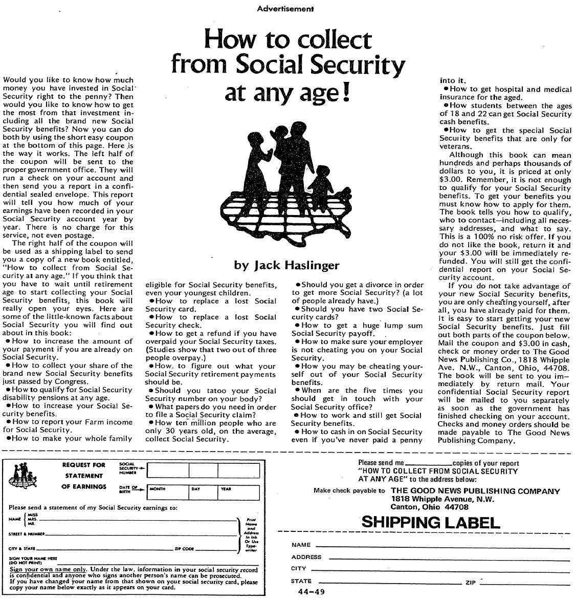 How to Collect Social Security